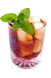 Drink With Mint Stock Images