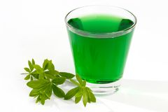 Drink of Woodruff Stock Photo