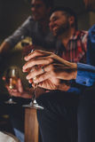 Drink After Work royalty free stock photography