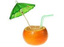drinka mandarine Obrazy Stock