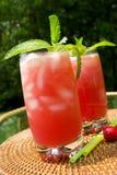 drinka watermelom Zdjęcie Royalty Free