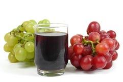 drinka winogron obraz stock