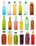 Drinkar i flaskor Royaltyfri Fotografi