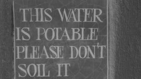 Drinkbaar water stock foto's