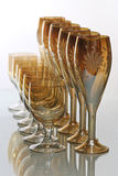 Drinkend glas Royalty-vrije Stock Afbeelding