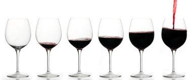 Drinkende grafiek Stock Afbeeldingen
