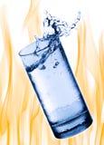 drinkförnyelse Arkivbild