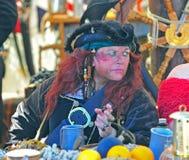 drinkfestivalen piratkopierar portland sitting Fotografering för Bildbyråer