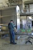 drinkfruktsaftproduktion royaltyfria foton