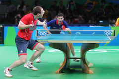 DRINKHALL Paul at the Olympic Games in Rio 2016. Royalty Free Stock Images