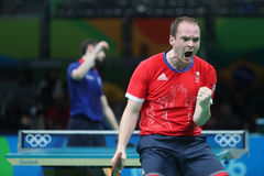DRINKHALL Paul at the Olympic Games in Rio 2016. Royalty Free Stock Photo