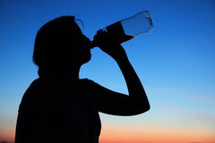 Drinking Royalty Free Stock Images