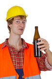 Drinking Beer Stock Images