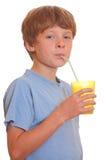 Drinking boy Stock Photo