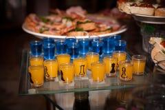 Drinking chess Stock Image