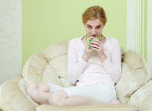 Drinking coffee Stock Photos