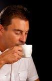 Drinking coffee Royalty Free Stock Photos