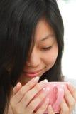 Drinking coffee Royalty Free Stock Photo