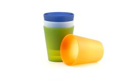Drinking Cups Royalty Free Stock Images