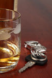 Drinking and driving Stock Photos