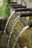 Drinking fountain. Old drinking fountain in Bachkovo Monastery Bulgaria Stock Photo