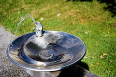 Drinking Fountain Royalty Free Stock Photos