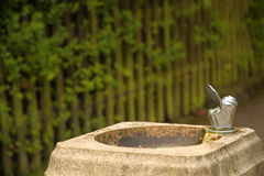 Drinking fountain Royalty Free Stock Image