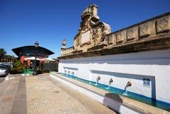 Drinking fountain, El Puerto de Santa Maria. Royalty Free Stock Image