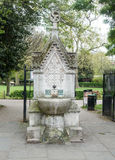 Drinking fountain. At Lincoln`s Inn Fields, London, UK Royalty Free Stock Image