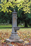 Drinking Fountain in the Park Royalty Free Stock Image