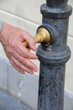 Drinking fountain Stock Photo