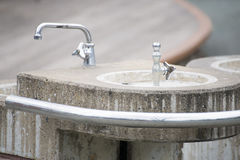 Drinking fountain in public park Stock Photography