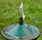 Drinking fountain water Stock Photo