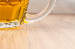 Drinking Glass On Top Of Table Stock Image