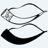 Drinking horn Royalty Free Stock Photography