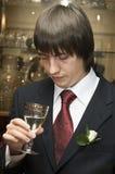 Drinking man Stock Photos