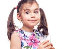Drinking milk Stock Photos