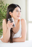 Drinking right water is important for most out of your workout Royalty Free Stock Images