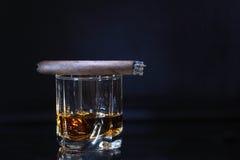Drinking And Smoking Stock Photo