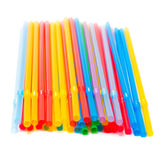 Drinking straw Stock Image