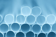 Drinking straw Stock Photography