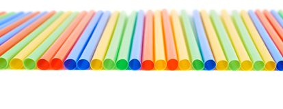 Drinking straw background Royalty Free Stock Photos