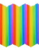 Drinking straw background Royalty Free Stock Image