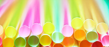 Drinking straw Royalty Free Stock Photos