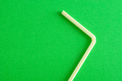 A drinking straw Royalty Free Stock Images