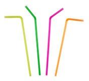Drinking straws Stock Photo