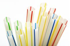 Free Drinking Straws Royalty Free Stock Photo - 190965