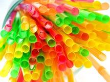 Drinking straws Royalty Free Stock Photography
