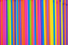 Drinking Straws As Colorful Background. Stock Image