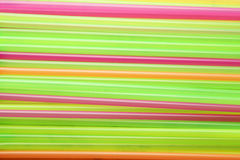 Drinking straws background, close up Stock Images